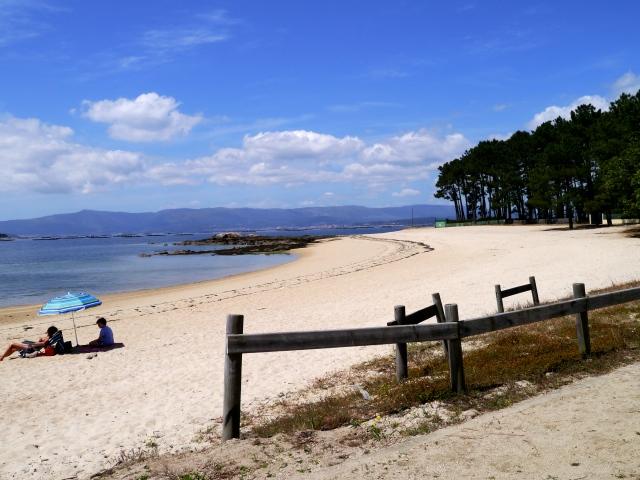 Beach, Pilgrim Trail, Vilanova