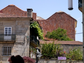 Pantiles on the way to the Sanctuary of Apparitions