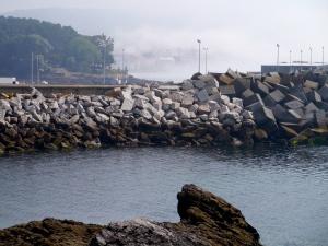 Portonova harbour