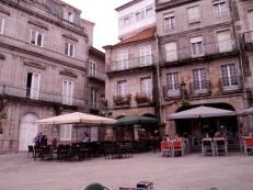 Old square, Vigo