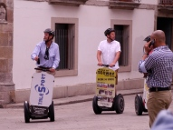 Segways in the square