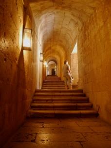 Monastery stairs