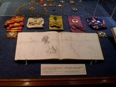 Medals and diary of a sailor