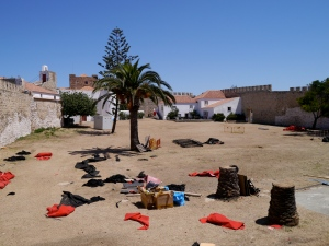 Inside the fort, Sines
