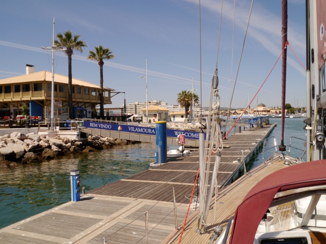 Reception Pontoon, Vilamoura