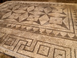 Entrance floor mosaic