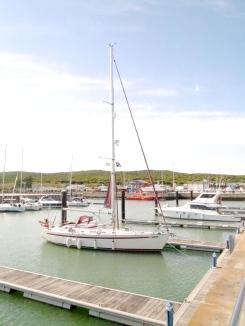 Lyra on a huge pontoon