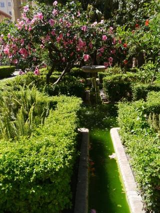 Malaga Cathedral Garden