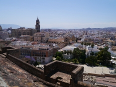 Malaga from the Fort