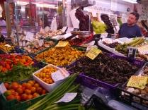 Valencia market stall